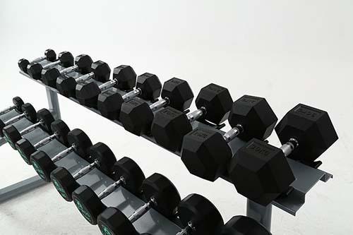 ejercicios para triceps con mancuernas