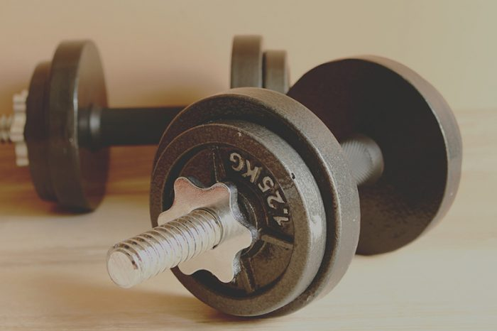 ejercicios para espalda con mancuernas
