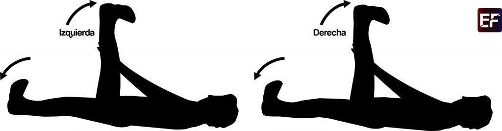 rutina para abdomen tijeras