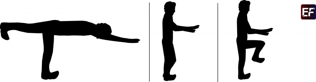 rutina para abdomen warrior balance