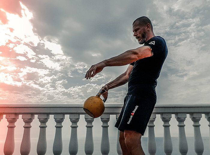 ejercicios de tríceps en casa