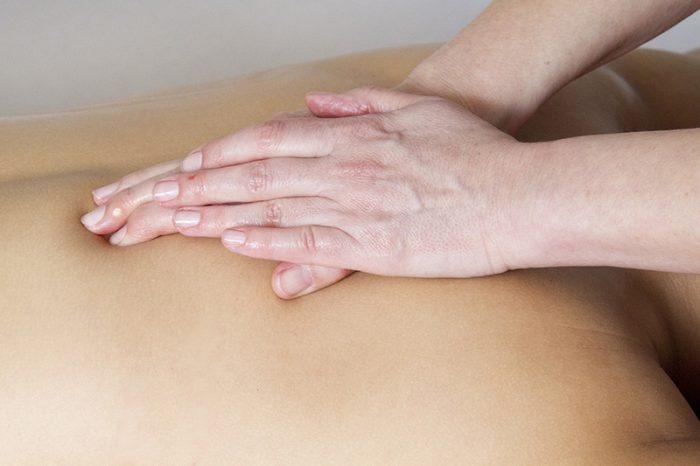 masajes en la espalda