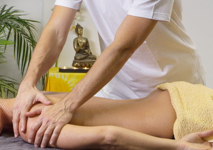masajes con aceite casero