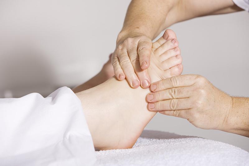 masajes para pies