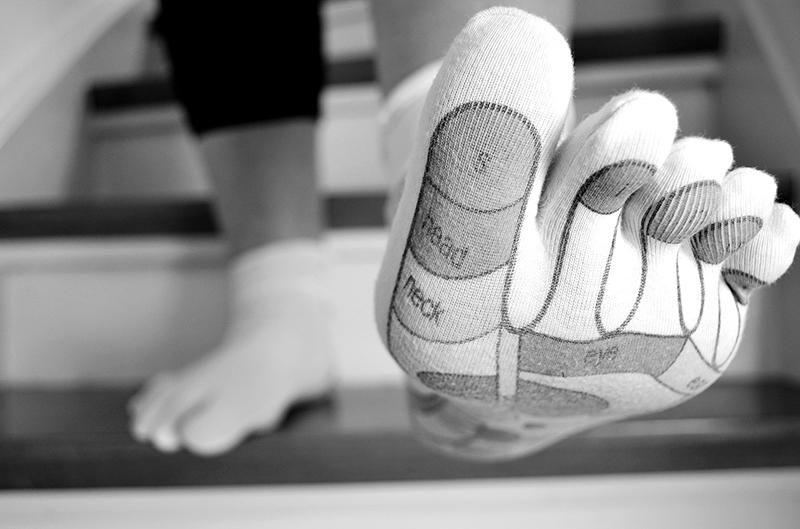 puntos para masajes de pies