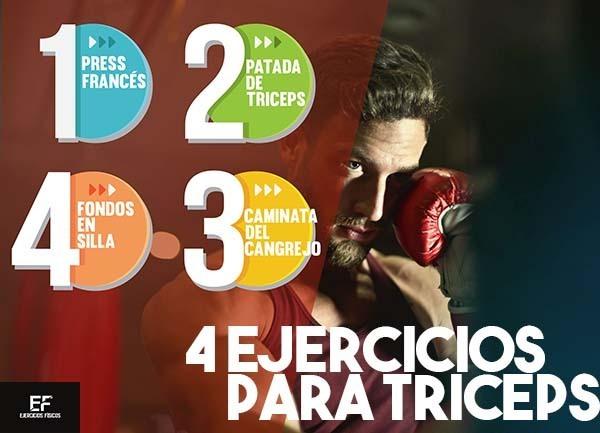 ejercicios para el triceps