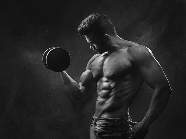 rutinas para biceps con mancuernas