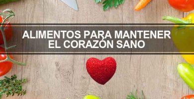 alimentos para el corazon