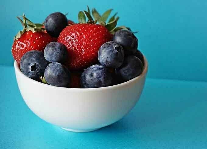 una comida para la salud cardiaca