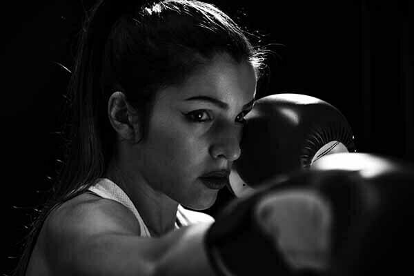 boxeo en casa
