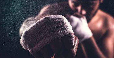 entrenar boxeo en casa